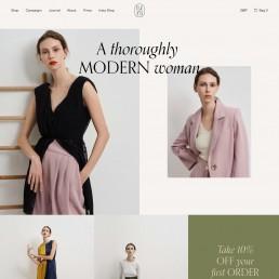 modern woman web
