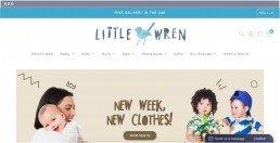 little wren web design